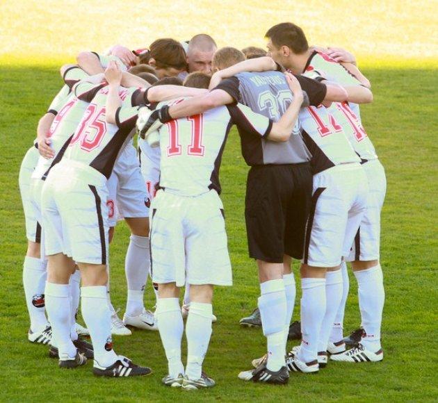 Marijampolės futbolininkai prarado taškus.