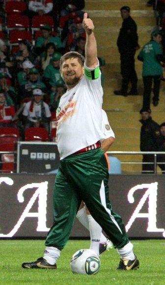 Čečėnijos prezidentas Ramzanas Kadyrovas
