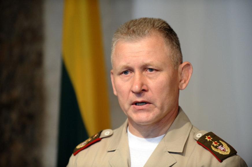 Lietuvos kariuomenės vadas generolas majoras Arvydas Pocius