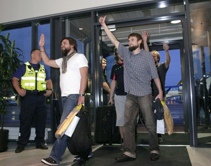 Libane pagrobti Estijos turistai grįžo tėvynę
