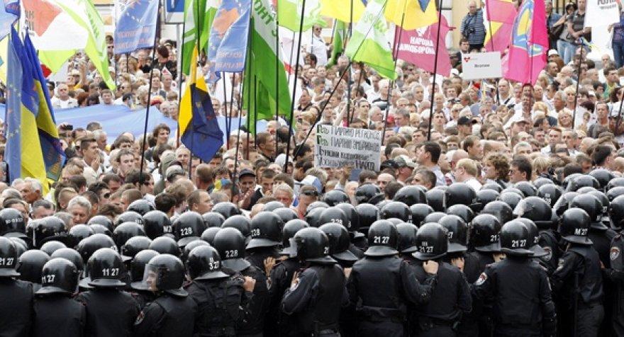 Protestas Kijeve