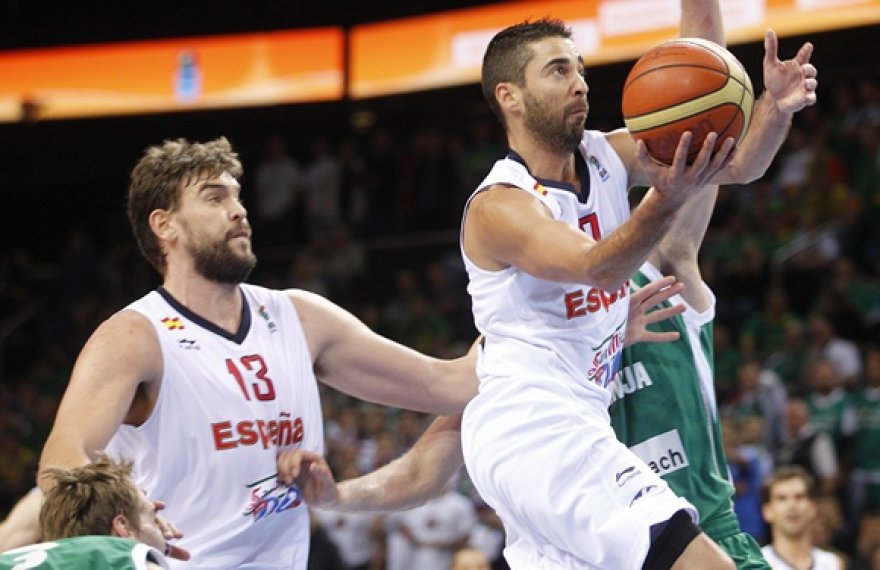 Marcas Gasolis (kairėje) ir Juanas Carlosas Navarro