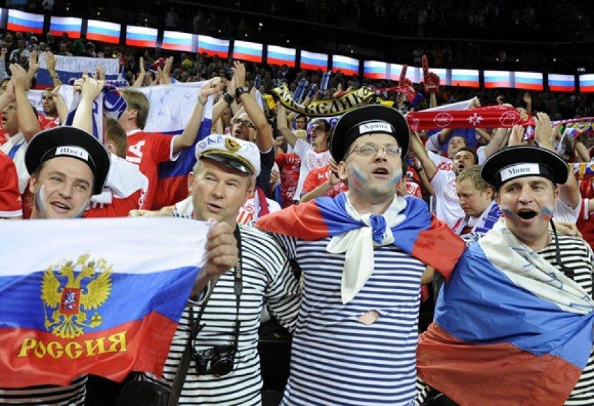 Rusijos krepšinio sirgaliai