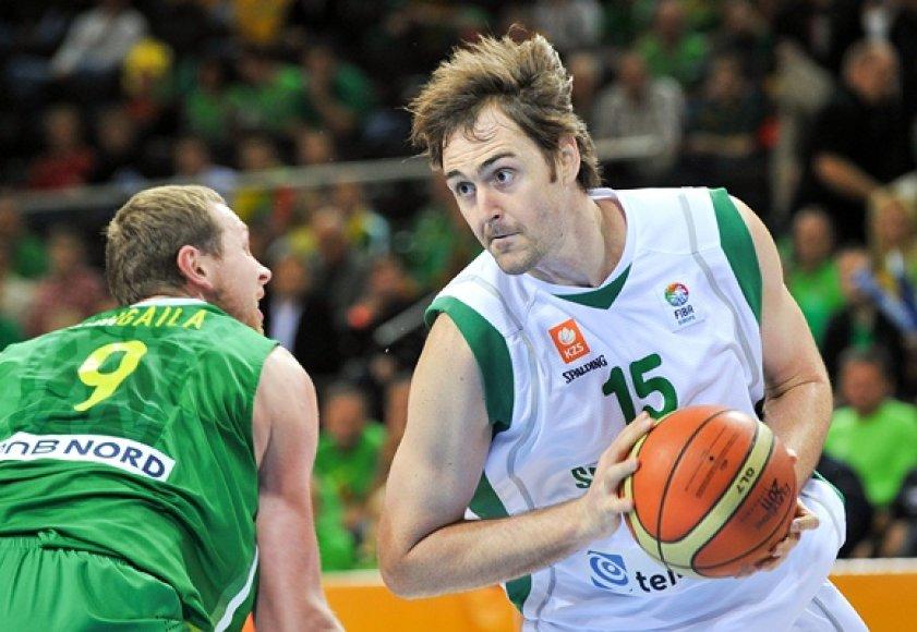 Erazemas Lorbekas (dešinėje)