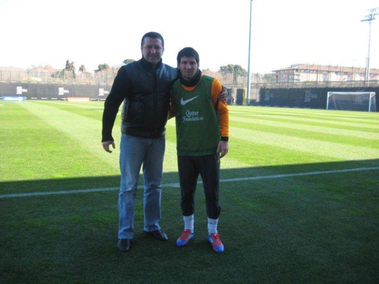 A Skrupskis ir L.Messi