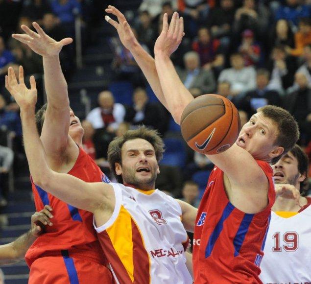 CSKA šventė dar vieną pergalę