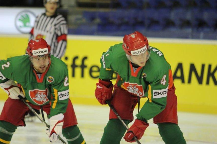 Lietuvos ledo ritulininkai vyks į Ukrainą
