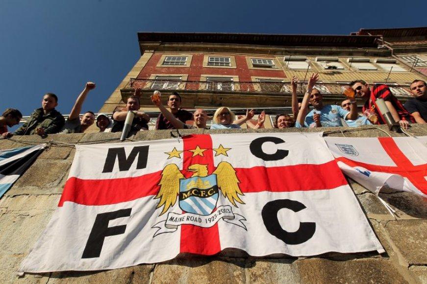 """""""Manchester City"""" gerbėjai"""