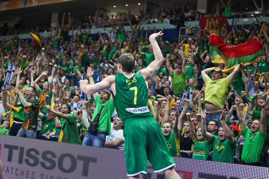 Lietuvos krepšinio gerbėjai galės tiesiogiai stebėti rinktinės pasirodymą Karakase