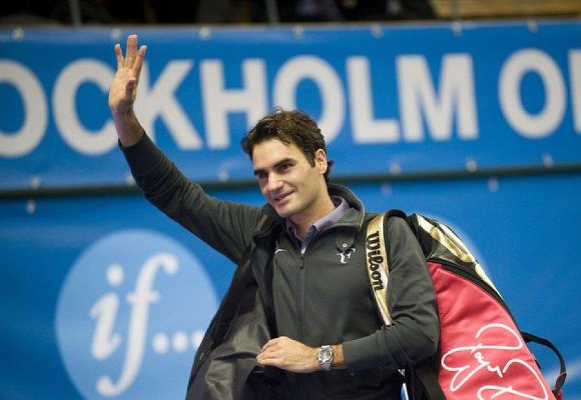 R.Federeris sužaidė istorinį 900 mačą karjeroje