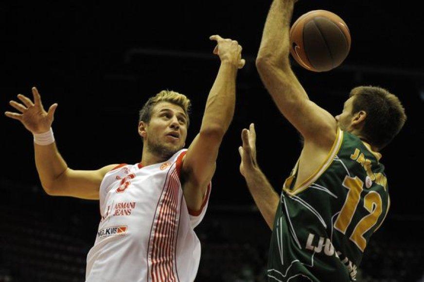 Slovėnas svariai prisidėjo prie dviejų savo ekipos pergalių