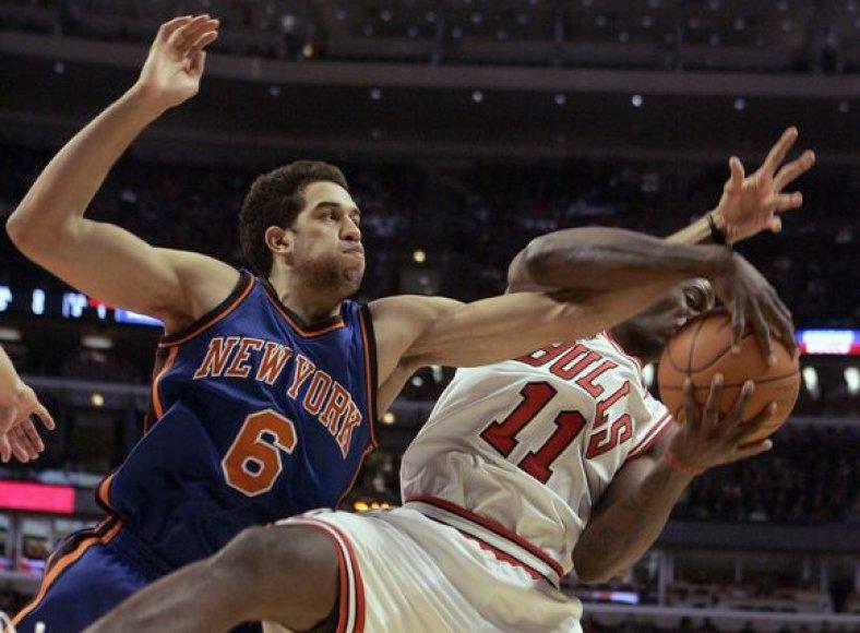 """""""Knicks"""" iškovojo antrą pergalę"""