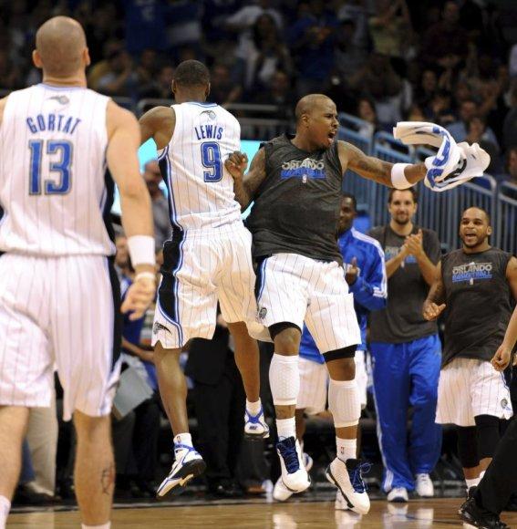 Orlando ekipa šventė jau dešimtą pergalę NBA