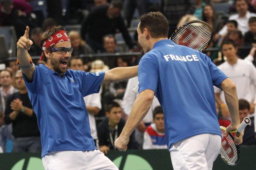 Deviso taurės turnyre dvejetų varžybose nugalėjo svečiai iš Prancūzijos