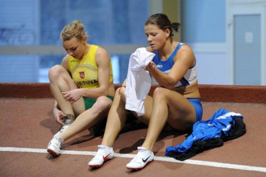 Lina Grinčikaitė (dešinėje) vėl buvo nenugalima.