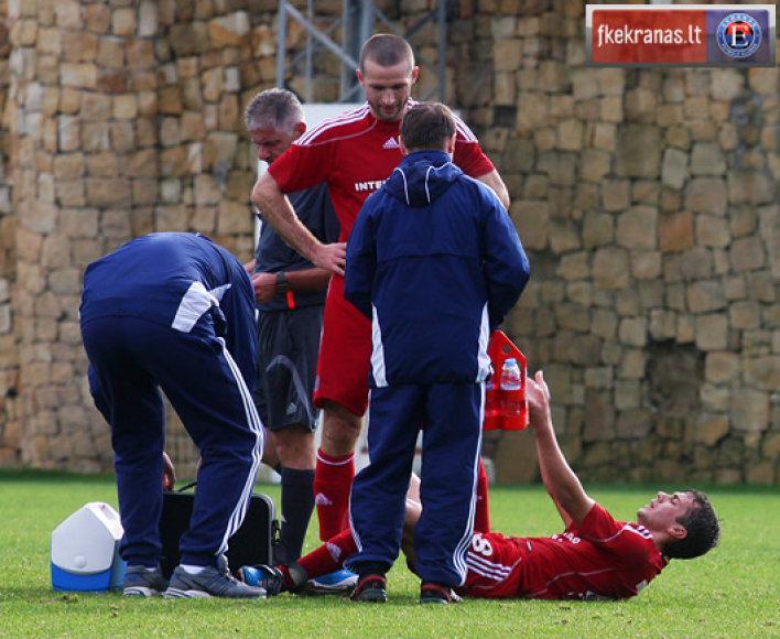 Panevėžio futbolininkai patyrė pralaimėjimą.