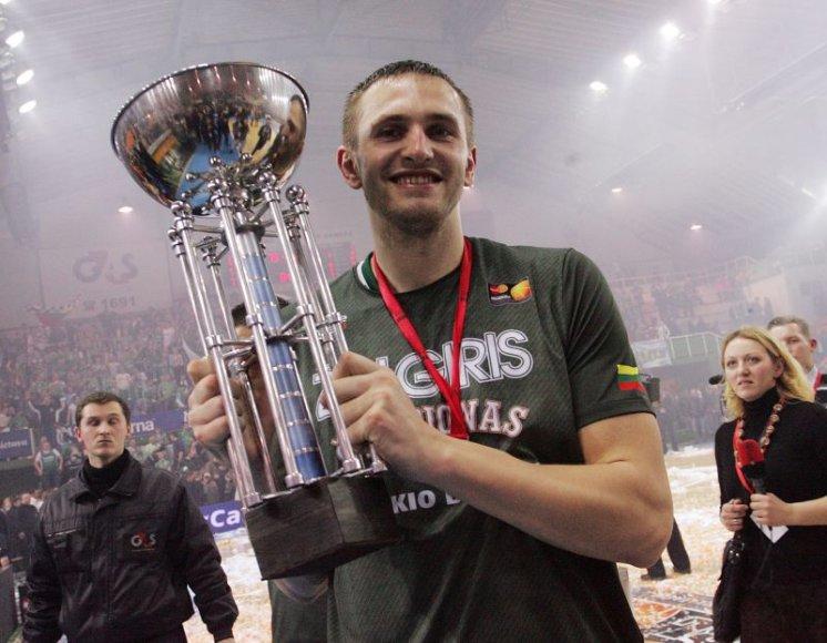 T.Klimavičius pripažintas naudingiausiu finalo žaidėju.