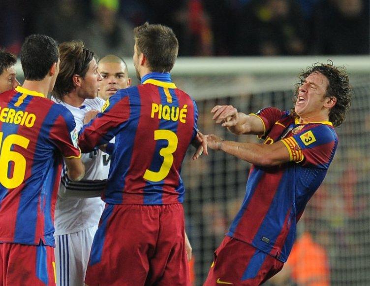 Pirmąjį susitikimą 5:0 laimėjo Barselonos futbolininkai.