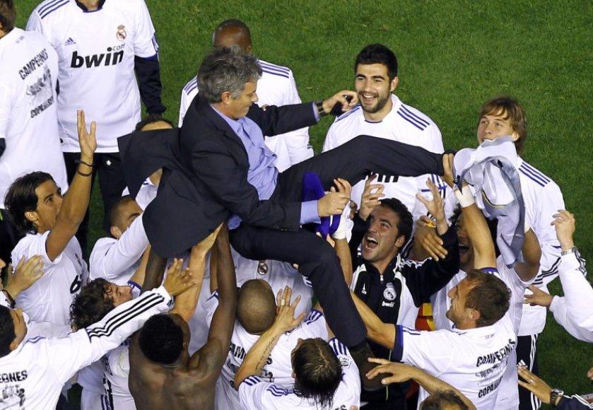 Jose Mourinho atvedė komandą į čempionų titulą.