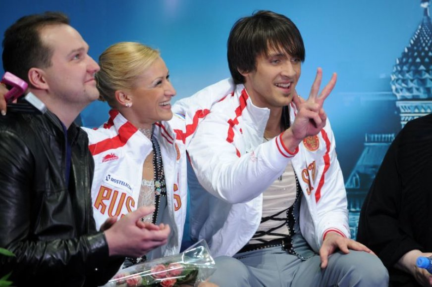 Stanislovas Morozovas (treneris), Tatjana Volosozhar ir Maksimas Trankovas