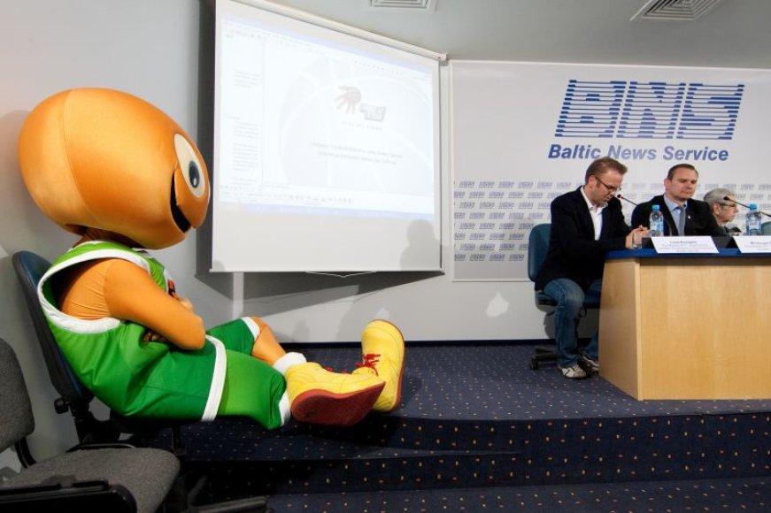 Europos krepšinio čempionato organizatoriai pristatė unikalias idėjas