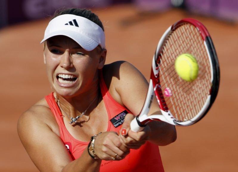 Caroline Wozniacki išlieka WTA reitingo lydere