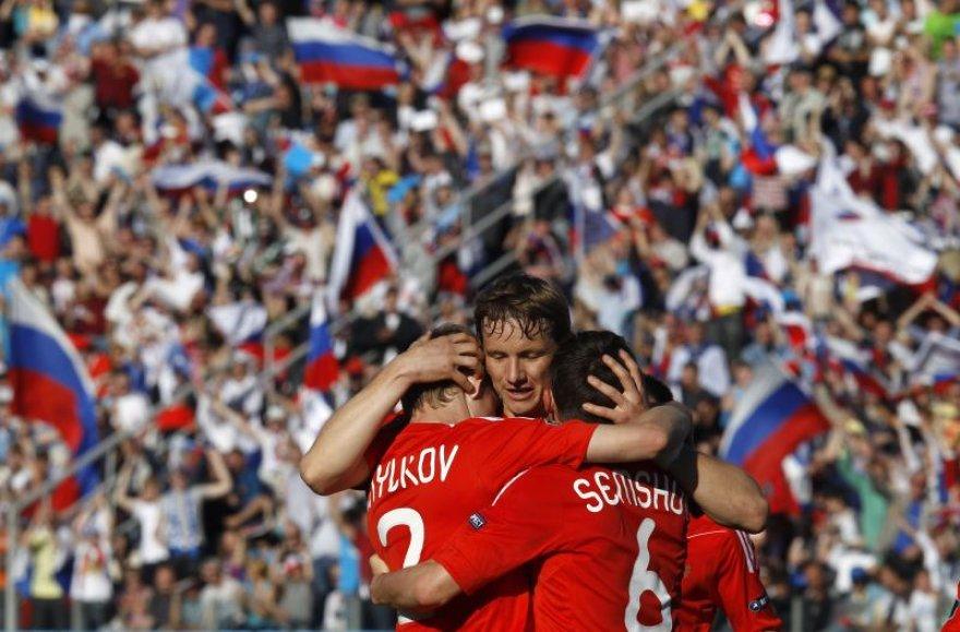 Romanas Pavlyuchenko pasižmėjo tris kartus