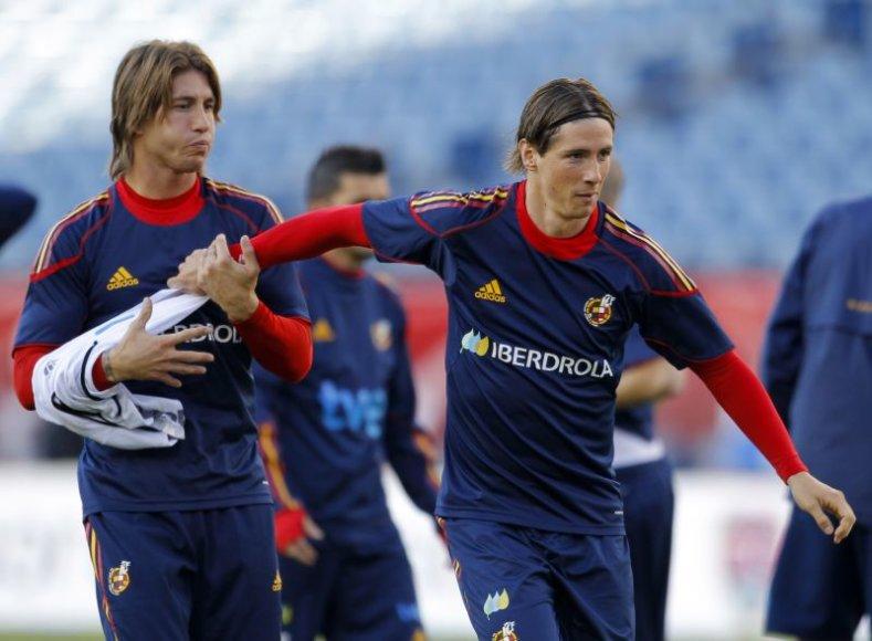 Ispanijos futbolininkai žais draugiškas rungtynes su Italija