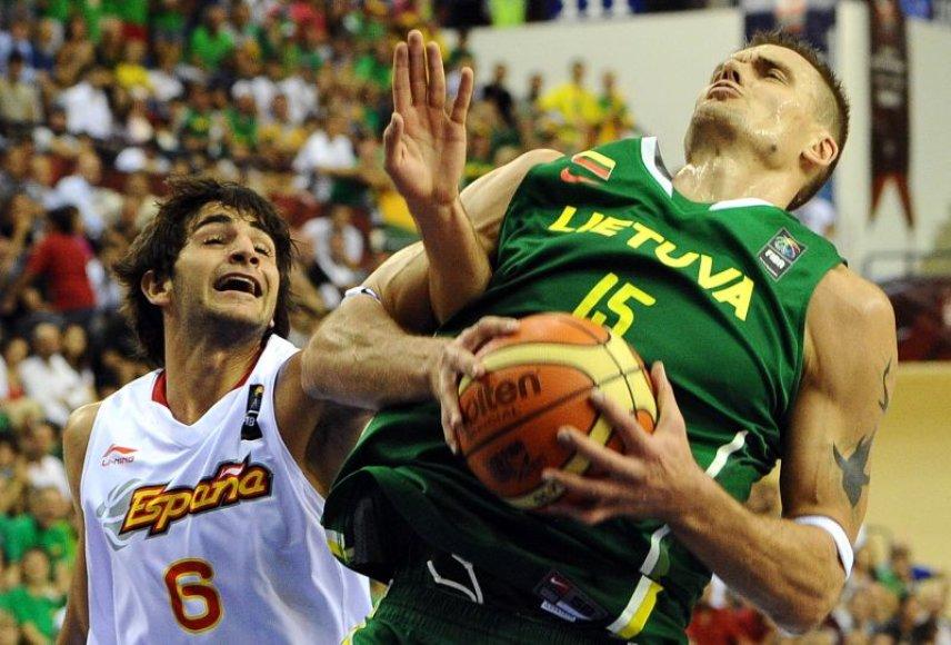 Draugiškos krepšinio rungtynės tarp Lietuvos ir Ispanijos įvyks rugpjūčio 18 d.