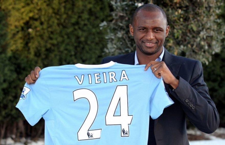 Patrickas Vieira baigia karjerą