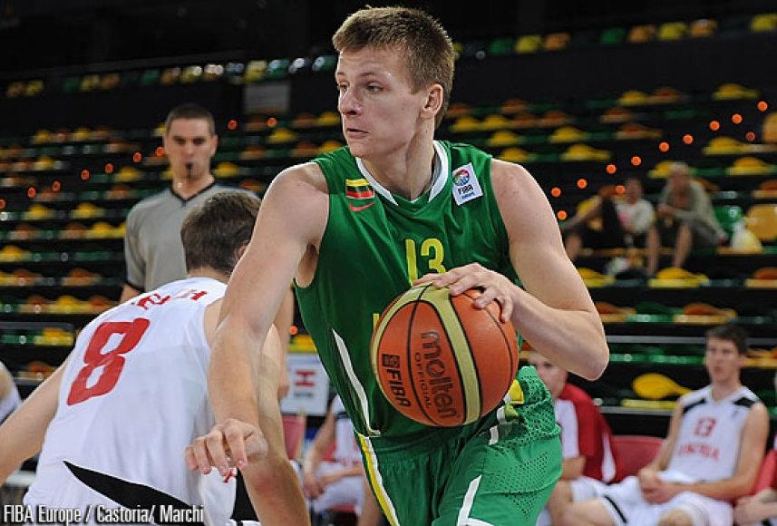 Lietuvos jaunimo rinktinė įveikė Kroatiją