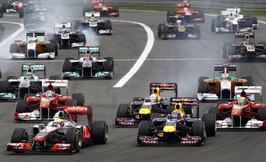Vokietijos GP lenktynės