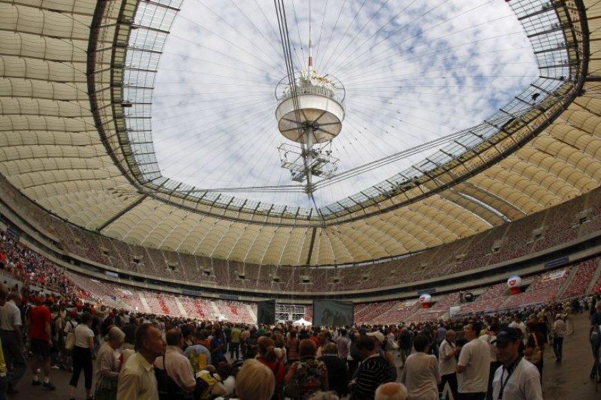 Varšuvos stadiono atvirų durų diena