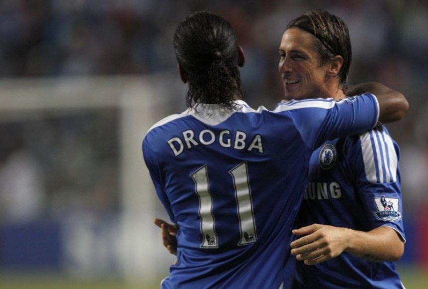 Fernando Torresas pelnė antrąjį mačo įvartį