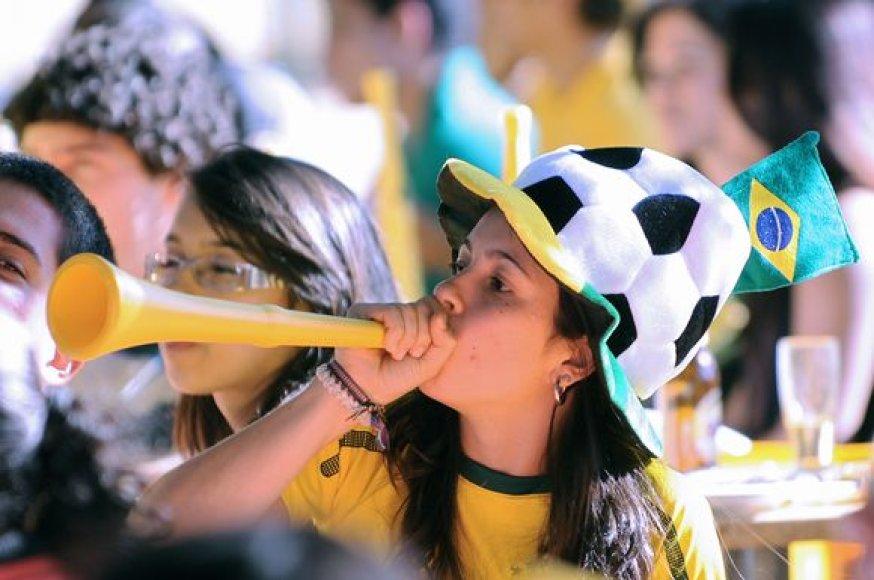 Pasaulio futbolo čempionatas prasidės birželio 12 dieną