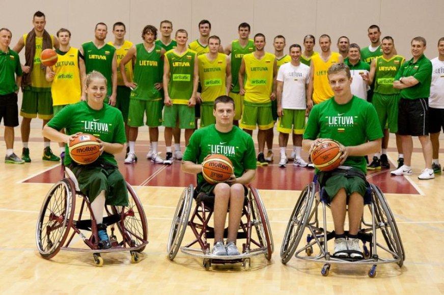 Lietuvos krepšinio rinktinės