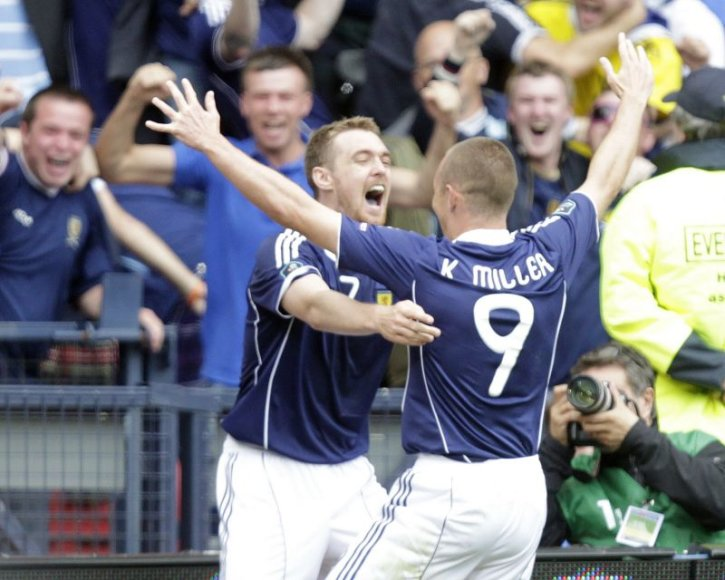 Paskelbta Škotijos futbolo rinktinės sudėtis