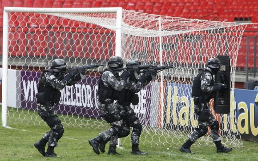 """Incidentas įvyko """"Arena da Baixada"""" stadione"""