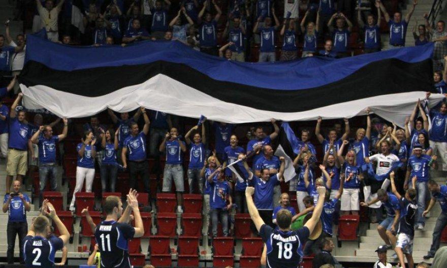 Estijos futbolo aistruoliai iššavė visus bilietus