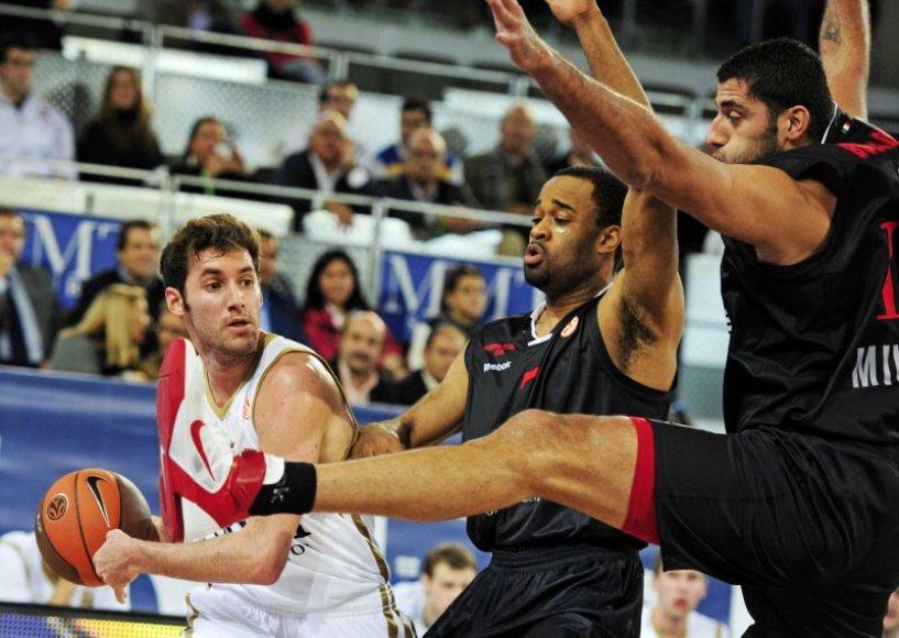 Rudy Fernandezas (kairėje)