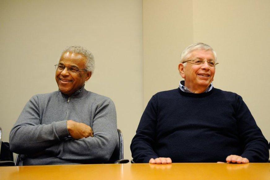Davidas Sternas ir Billy Hunteris