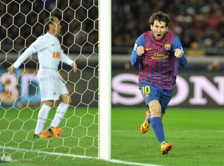 """""""Barcelona"""" triumfavo pasaulio futbolo klubų turnyre"""