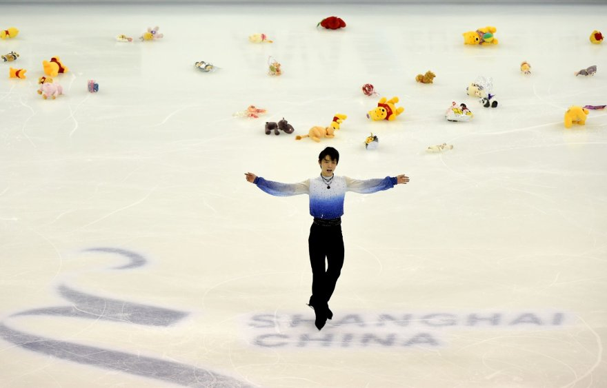 "AFP/""Scanpix"" nuotr./Yuzuru Hanyu"