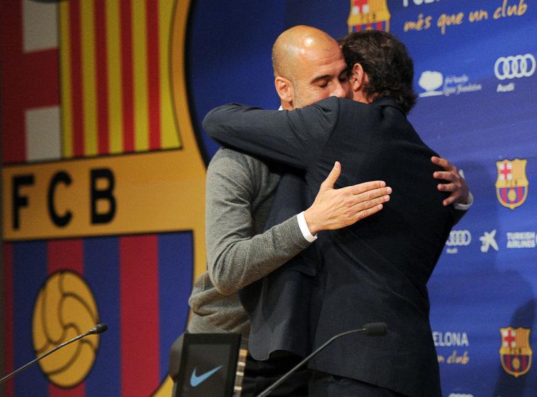 Pepas Guardiola ir Sandro Rosellis