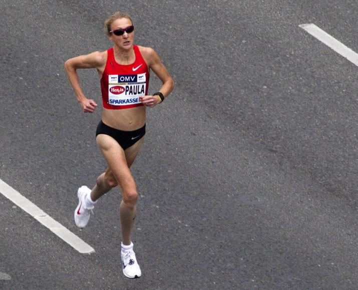 Maratono bėgikė