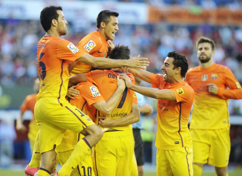 """""""Barcelona"""" žaidėjai"""