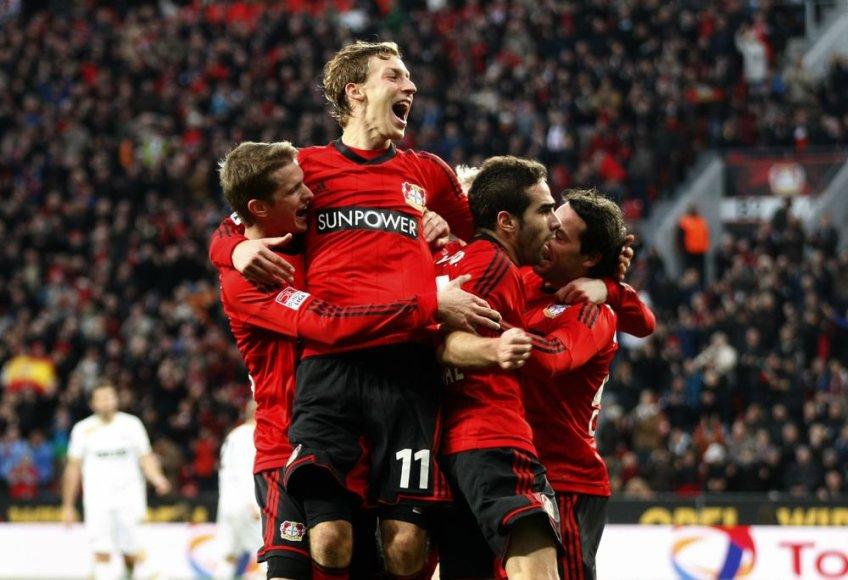 """""""Bayer"""" kyla į ketvirtąją vietą Vokietijos """"Bundesliga"""" čempionate"""