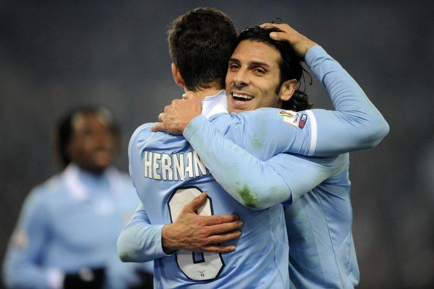 """""""Lazio"""" žais Italijos futbolo taurės pusfinalyje"""