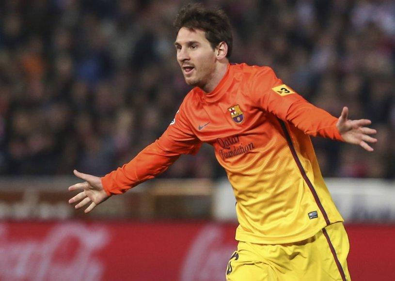 Lionelis Messi peržengė 300 įvarčių ribą
