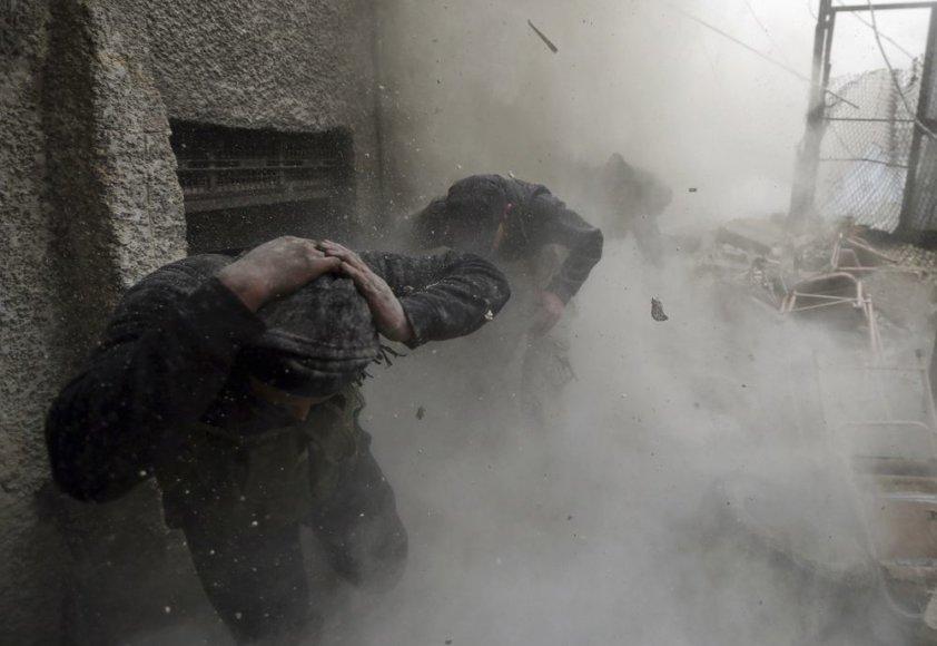 Sirijoje minosvaidžio sviediniams nukritus stadione žuvo futbolininkas